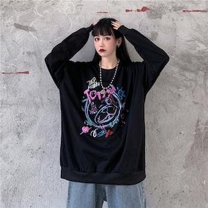【トップス】落書き暗黒风ファッションパーカー42912393
