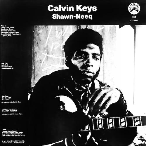 【LP】Calvin Keys - Shawn-Neeq