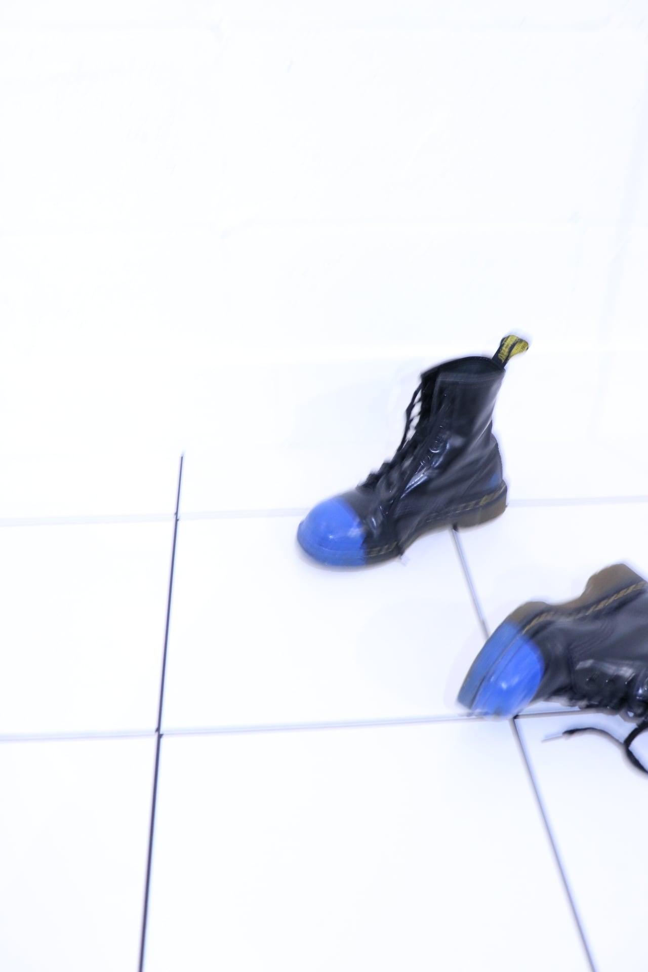 Vintage Dr.Martens painted 8 hole boots