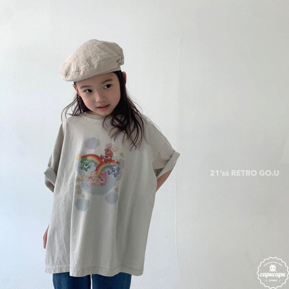 «sold out» go.u care bears T shirts ケアベアTシャツ