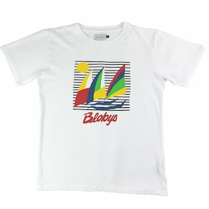 Blobys Boat TShirt White L