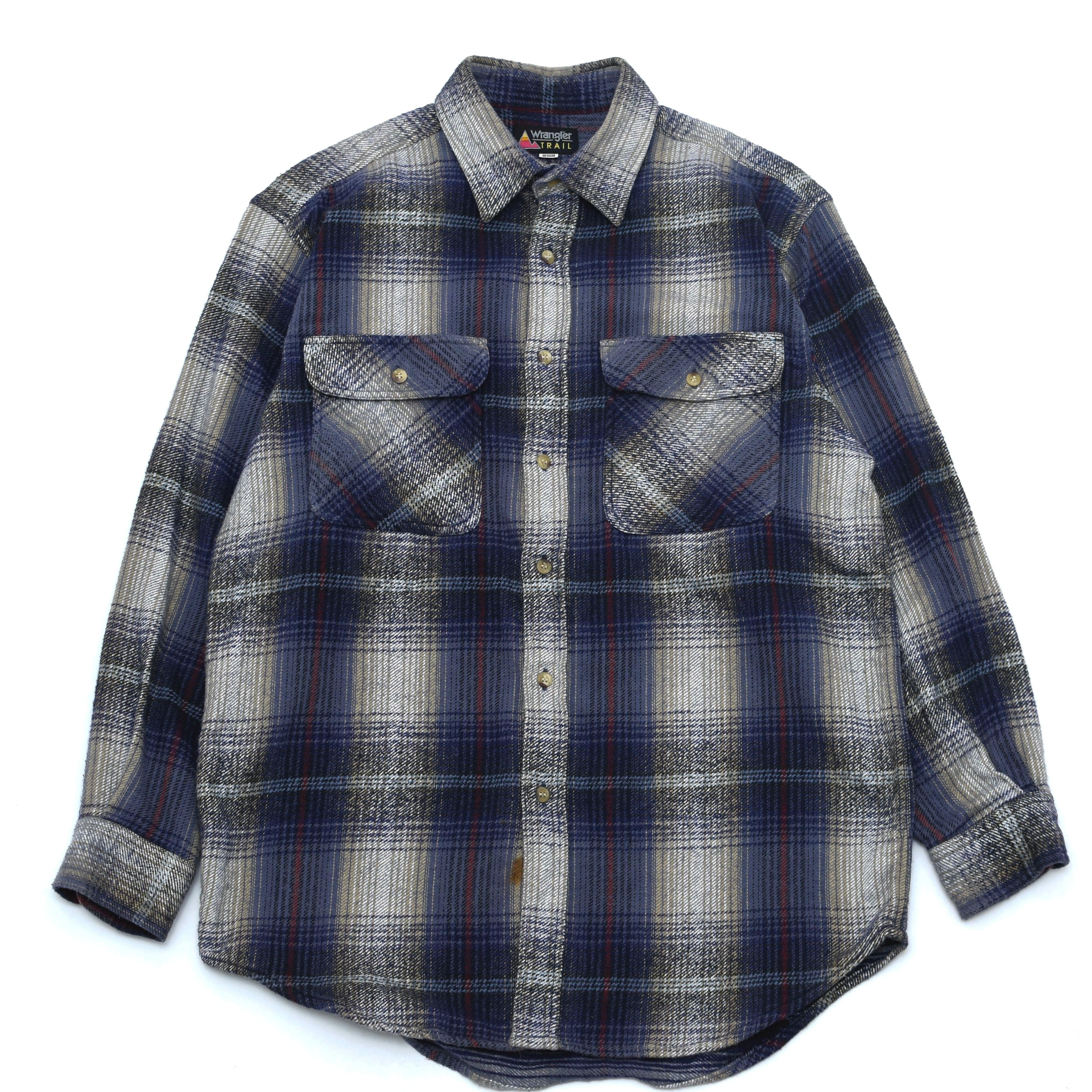 90's Wrangler heavy weight flannel shirt