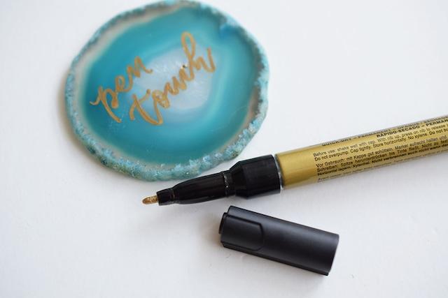 Sakura Pen-Touch Metallic Bullet tip Marker 1mm