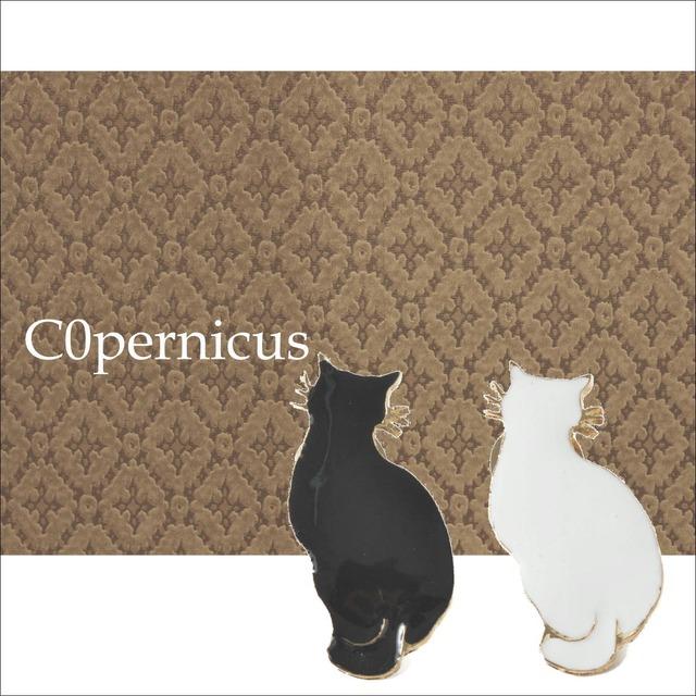 2color 猫ブローチ ネコ雑貨/浜松雑貨屋C0pernicus