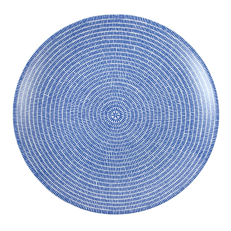ARABIA(アラビア) 24h Avec(24h アベック) プレート26cm ブルー