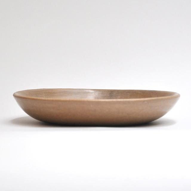 EREACHE エレアチェ 素焼き 茶 お皿A 食器 メキシコ オアハカ No.17