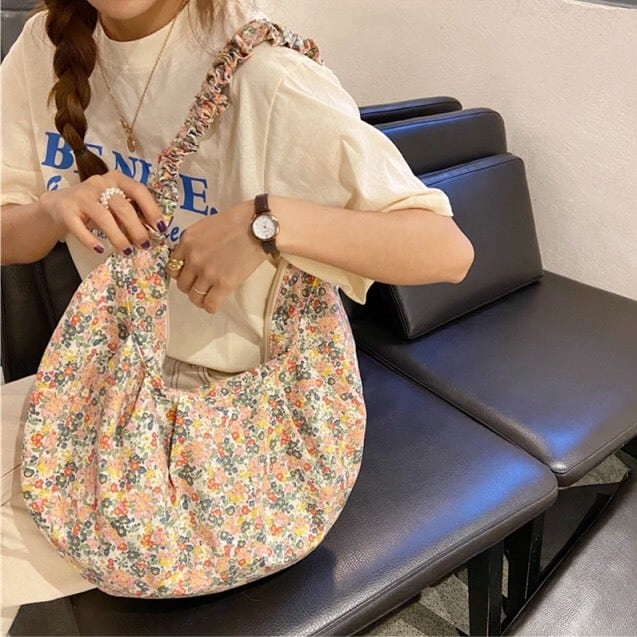 Flower Crossbody Bag(4color)