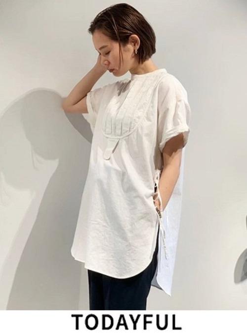 TODAYFUL (トゥデイフル) Halfsleeve Dress Shirts 12010421
