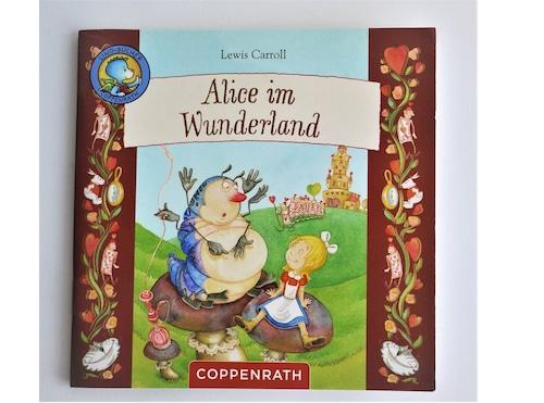 ヴィンテージミニ絵本 「不思議の国のアリス」Alice in Wunderland 手のひら絵本