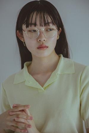 【受注】YUKI SHIMANE Melting Knit polo