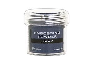 Ranger Embossing Powder Navy Metallic /エンボスパウダー