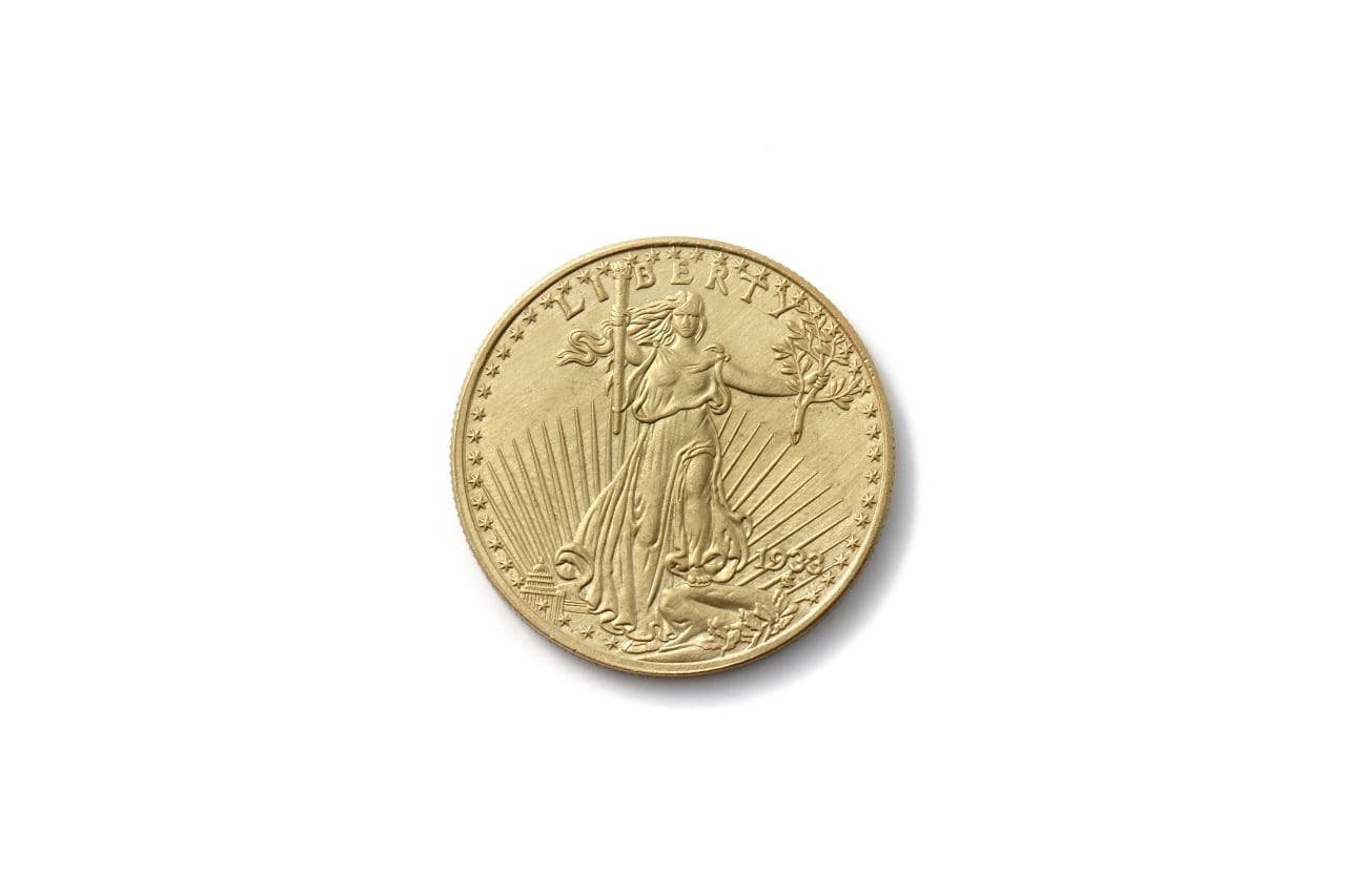 20ドル ダブルイーグル セントゴーデンズ金貨 レプリカ