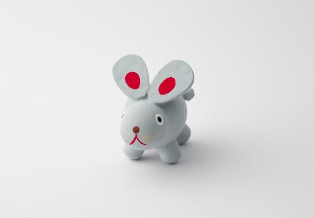 木彫十二支 子(ねずみ)【小人形】
