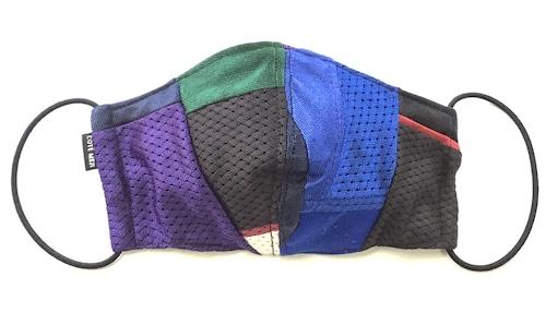 【デザイナーズマスク 吸水速乾COOLMAX使用 日本製】CRAZY PATTERN SPORTS MASK CTMR 1110020