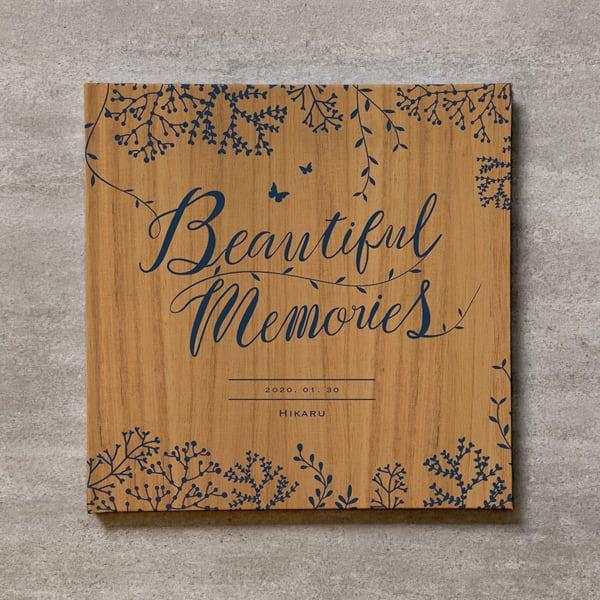Tree's Board(Light brown)-BABY_250SQ_20ページ/30カット_アートアルバム