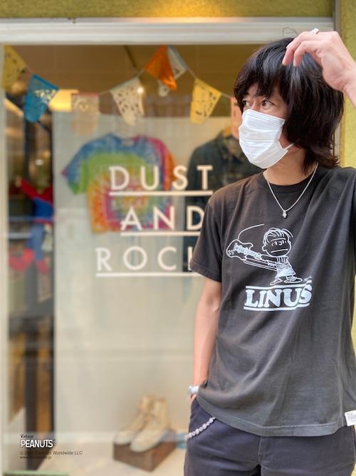 【PEANUTS】LINUS × DUSTANDROCKS Tシャツ ピーナッツ ライナス コラボレーション
