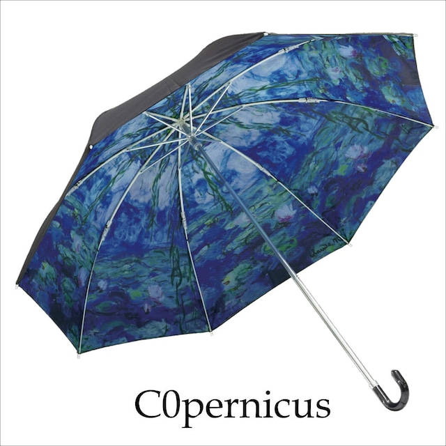 umbrella 折り畳み式 モネ 日傘 雨傘 晴雨兼用 街歩き 旅行 UV対策 紫外線 紫外線対策】