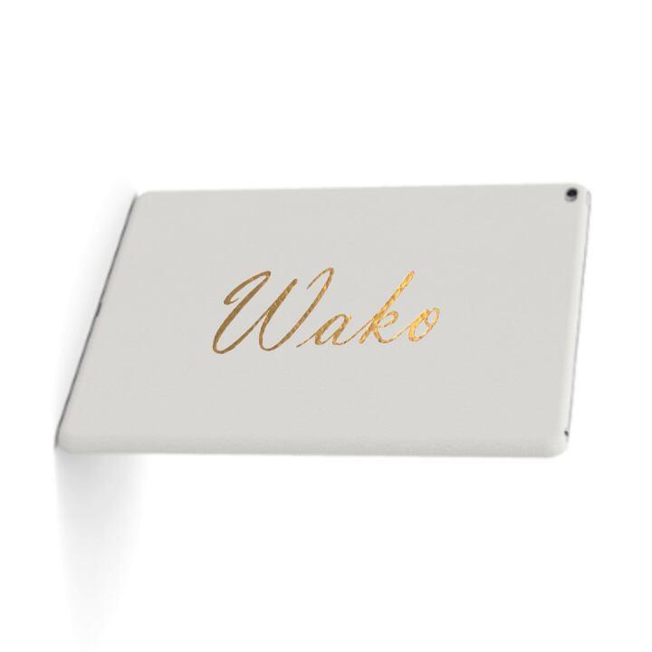 Custom Name iPad Premium Smooth Leather Case (Flat Type) (Limited/10月分数量限定)