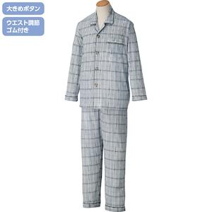 紳士・大きめボタンパジャマ