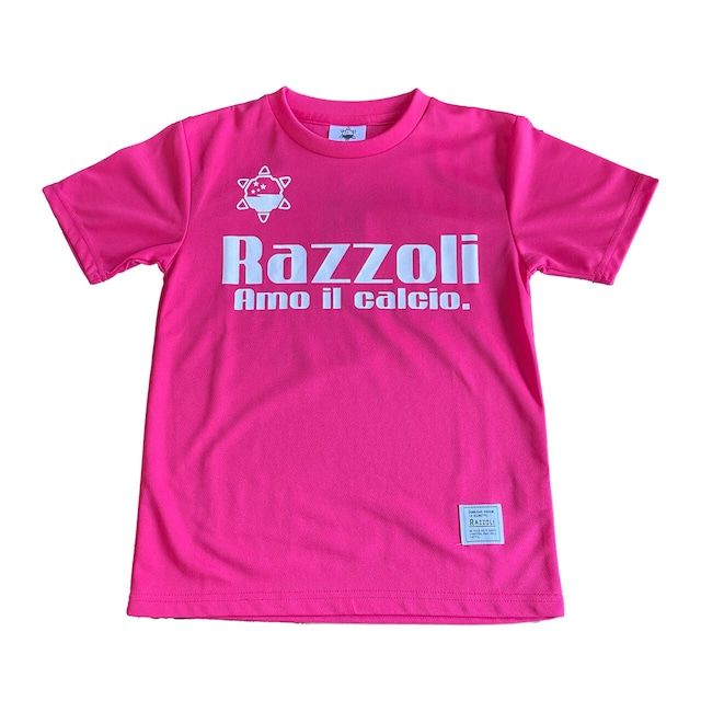 Razzoli ジュニア プラシャツ PINK(RZZKS01)