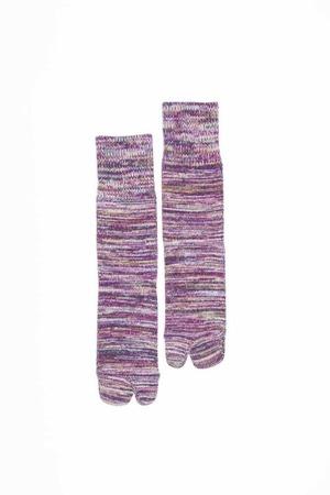 4Color Mix Socks (Purple)