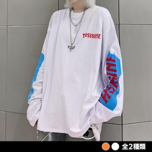 THSISNEロゴスリーブシャツ(全2色) / HWG311