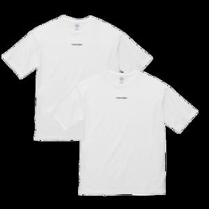 2枚組ロゴTシャツ 【ワイドフィット】