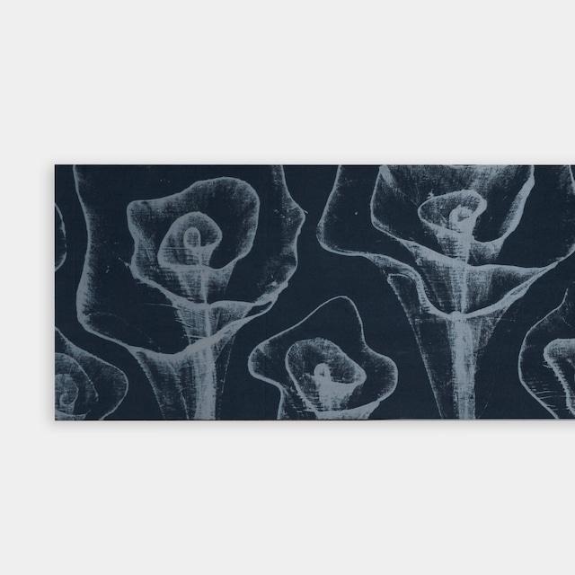 Shiori Mukai Textile パネル 068 向井詩織 ブロックプリントパネル 約120×30cm