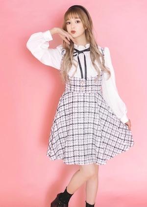 【ManonMimie】Mono Tweed Dress