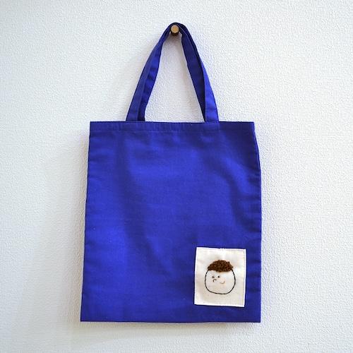 【SALE 20%off】miiiの人間ミニトート(ブルー)