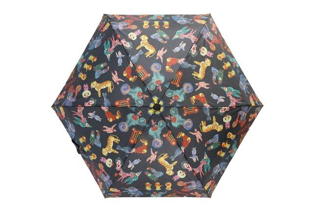 ナタリーレテ(Nathalie Lete)折りたたみ傘 サーカス 動物
