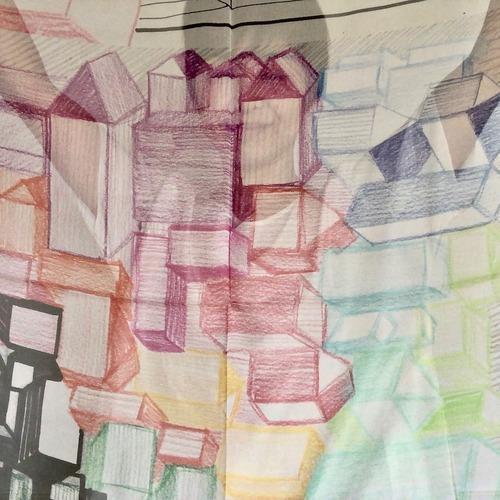 オレリーマティゴ   メゾン カラー 大判シルクシフォン スカーフ 110センチx110センチ