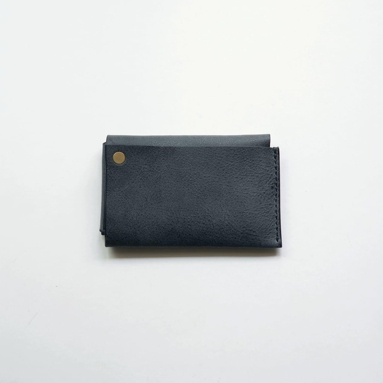 square wallet - bk - nebbia