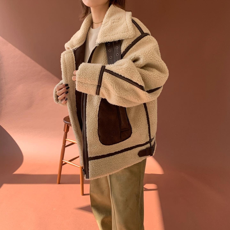 boa blouson jacket