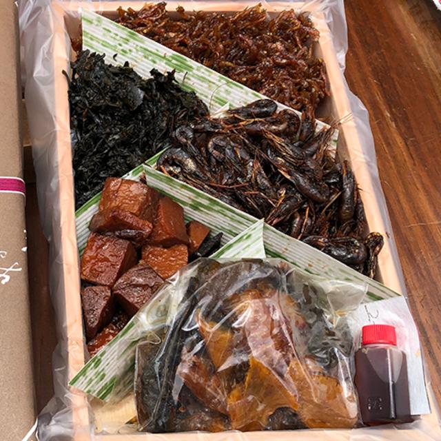 鰻大和煮詰め合わせ5種(鰻80g、各100g)