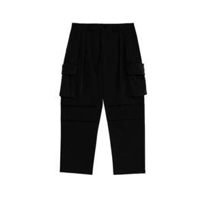 【UNISEX】アウトドア サイドポケット ミリタリー ストレート パンツ【3colors】UN-A0176