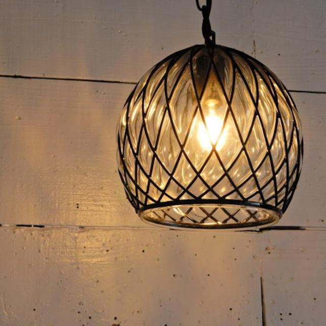 TOPANGA Lighting ブロウボールガラスランプ