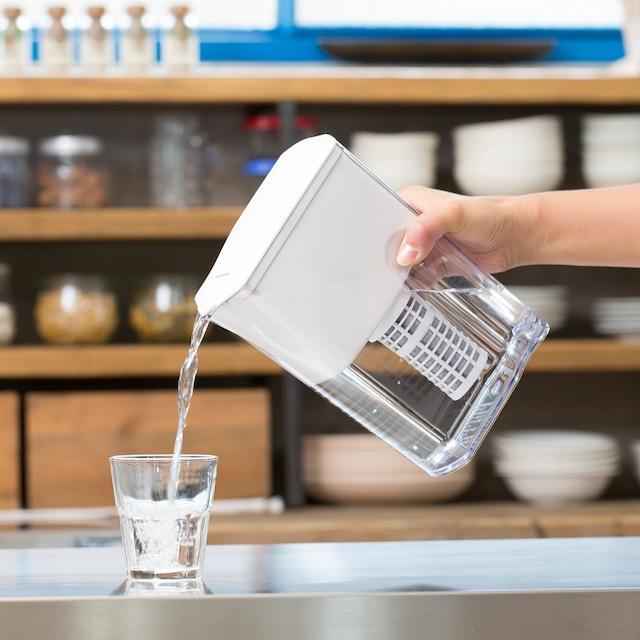 逆流洗浄機能付き浄水ピッチャータイプ