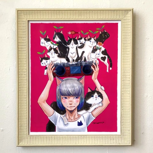 かわさきみな「with cats」