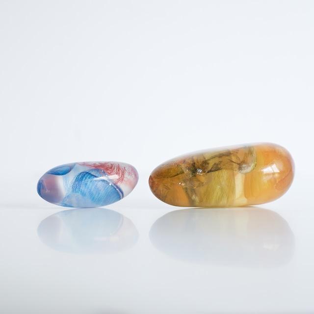 marumasu×Atelier matic / floating stones
