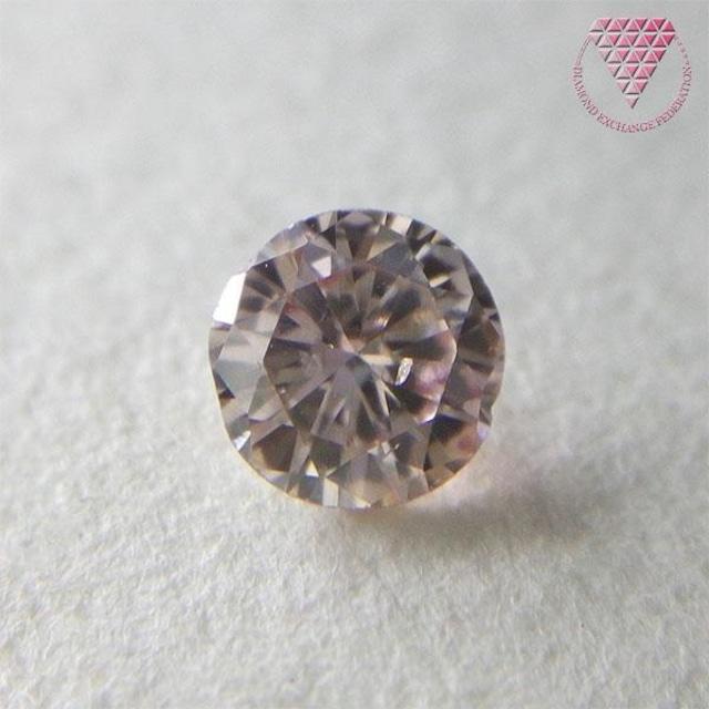 0.252 ct F.L.Brown Pink SI1 天然 ダイヤモンド