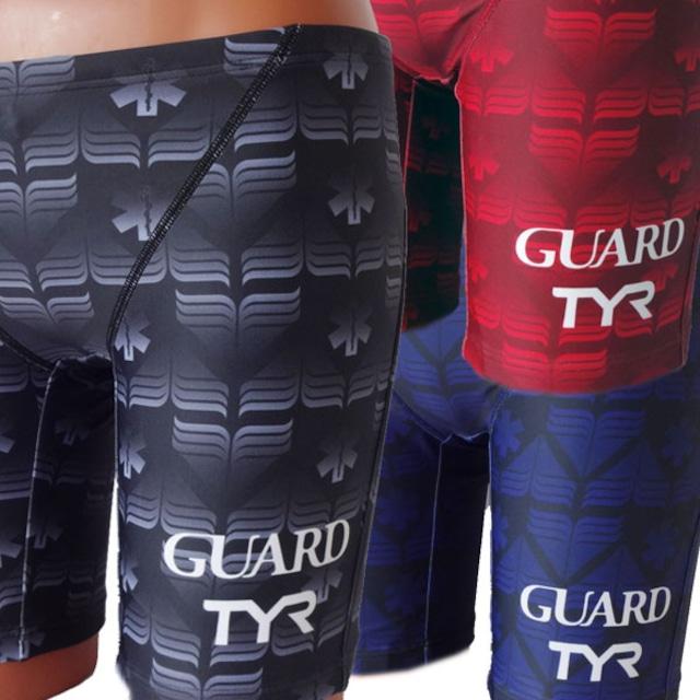 TYR×GUARD メンズ水着 ジャマーハーフパンツ jgurd-15s 競泳 ブランド トライアスロン レスキュー ライフセービング