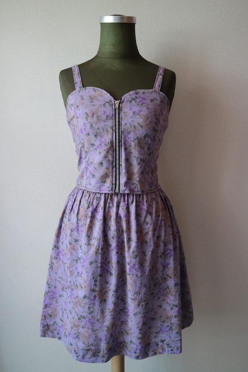 Summer dress set up -PURPLE-