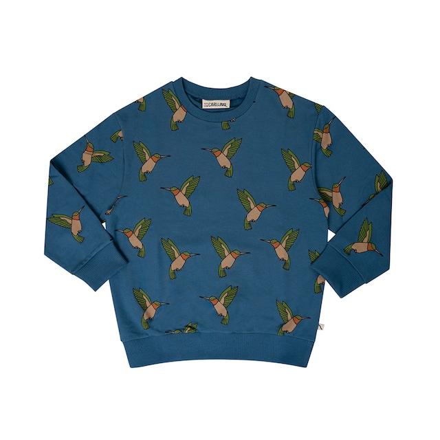 【21AW】カーラインク(CARLIJNQ)Hummingbird sweater 鳥 スウェット
