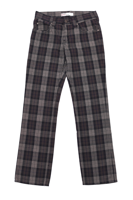 Levi's511 slim check pants