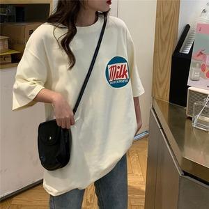 ビッグシルエットロゴTシャツ S4196