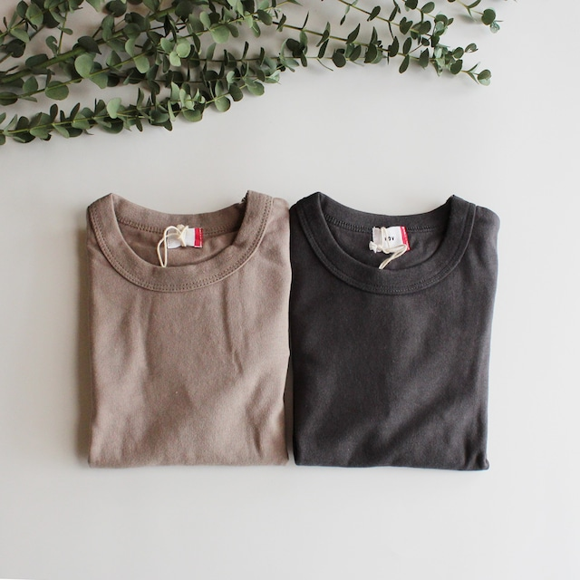 FOV PLAIN L/S Tシャツ アッシュグレー/チャコール(S/M/L/XL) メール便可