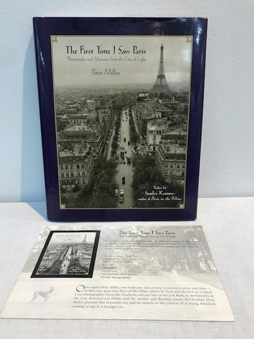 サイン The First Time I Saw Paris    Peter Miller