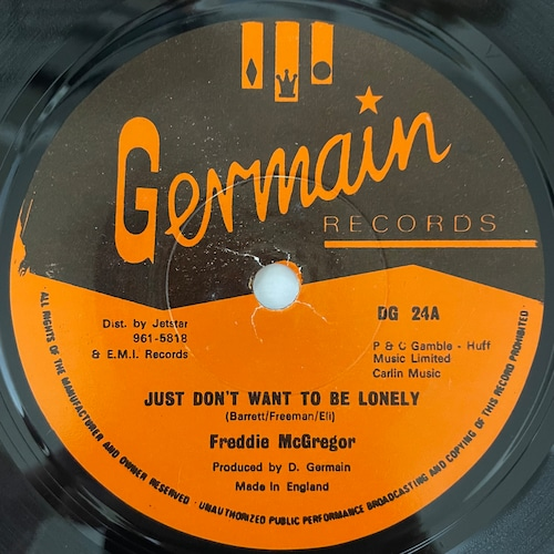 Freddie McGregor - Just Don't Want To Be Lonely【7-20793】
