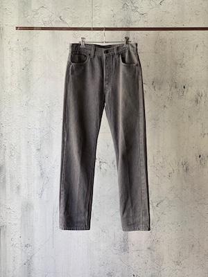 Levi's501 gray denim pants